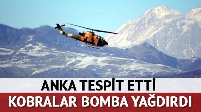 ANKA tespit etti, Kobralar bombalad�