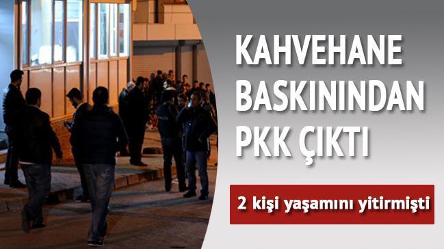 Kahvehane bask�n�ndan PKK ��kt�