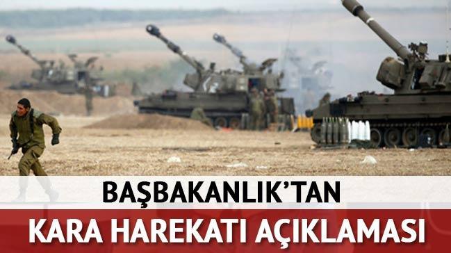 Ba�bakanl�k'tan 'kara harekat�' a��klamas�