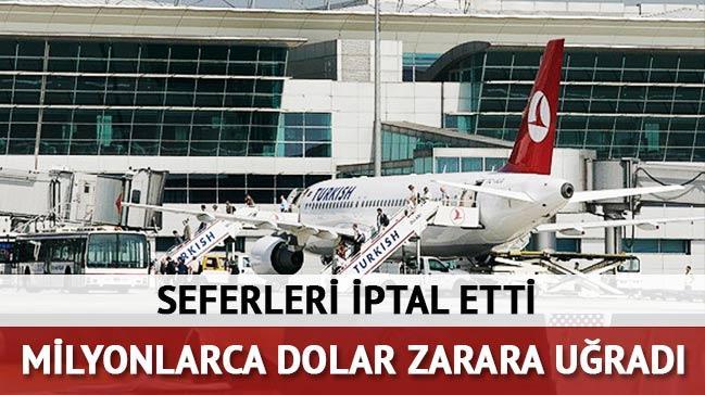T�rkiye'ye sefer iptali Rus havalimanlar�n� vurdu