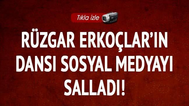 R�zgar Erko�lar'�n dans� sosyal medyay� sallad�