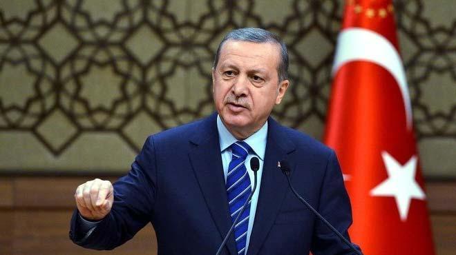 Cumhurba�kan� Erdo�an'�n o s�zleri ayakta alk��land�
