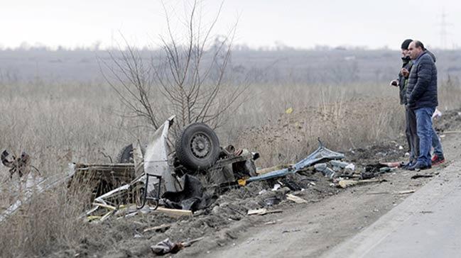 Ukrayna'da may�n patlamas�: 4 �l�