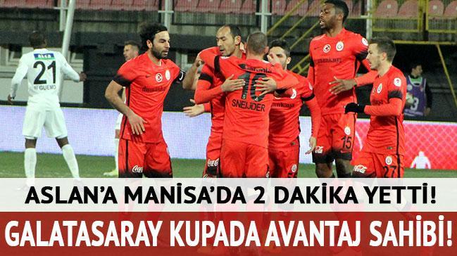 Galatasaray kupada avantaj sahibi!