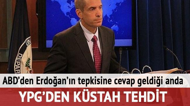 ABD'den Cumhurba�kan� Erdo�an'�n PYD tepkisine cevap geldi