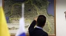 Moskova'da skandal T�rkiye haritas�