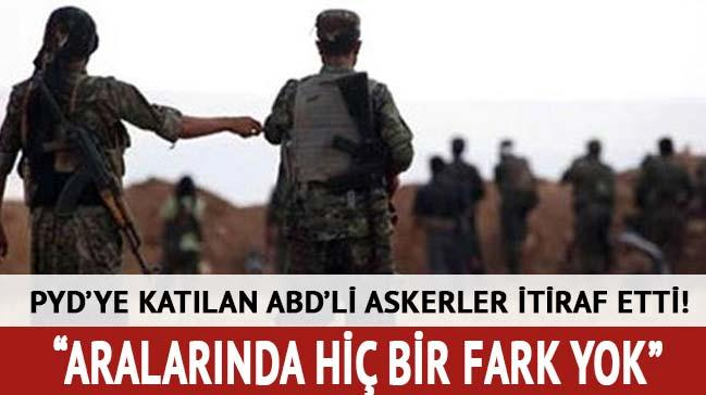PYD'ye kat�lan ABD'li askerlerden PKK itiraf