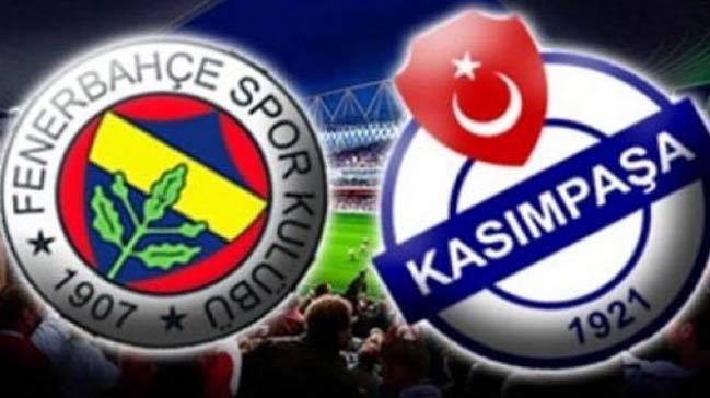 Fenerbahçe Kasımpaşa maçı saat kaçta, hangi kanalda