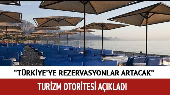 Turizmde T�rkiye'ye iyi haber var