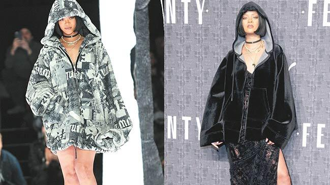 Rihanna'dan yeni gotik koleksiyon