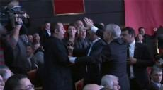 D�SK Genel Kurulu'ndaki sloganlara soru�turma