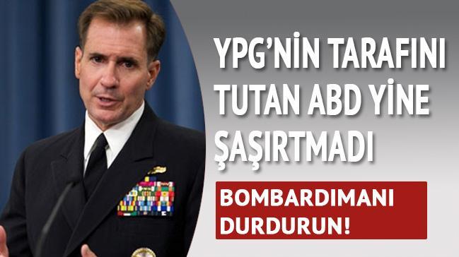 ABD'den ilk YPG a��klamas�