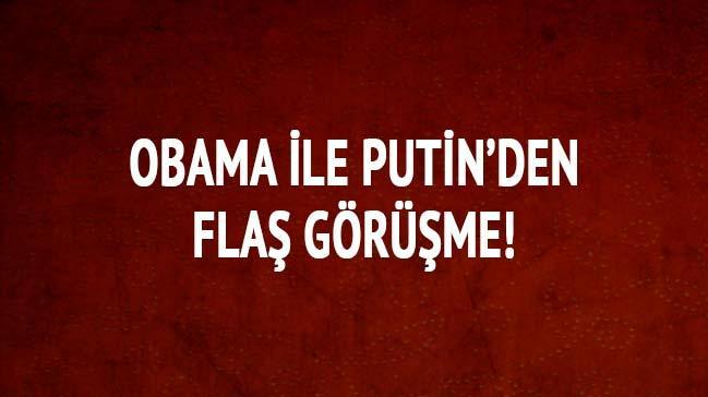 Obama-Putin'den fla� g�r��me