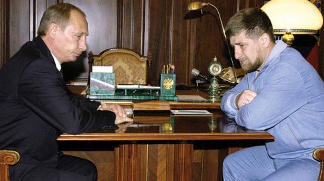 Ramzan Kadirov putin ile ilgili görsel sonucu
