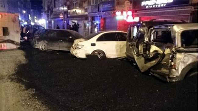 Çorum Haberleri: Park halindeki araçlara çarpan sürücü hastaneye kaldırıldı 91