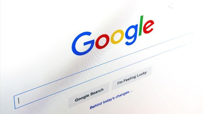 Google'da en �ok o kelime arand�