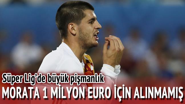 Morata Galatasaray'�n kap�s�ndan d�nm��