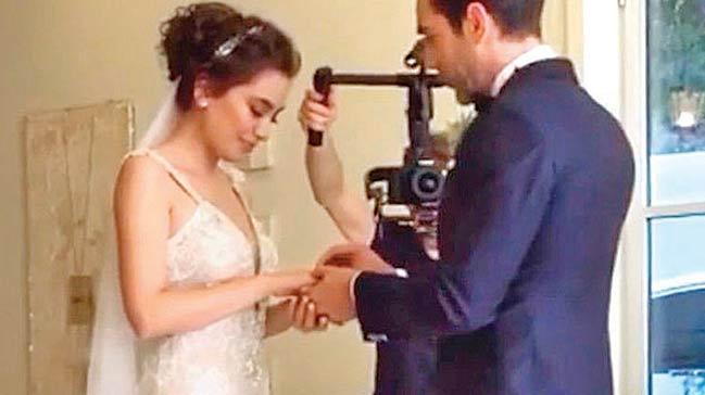 Neslihan Atagül evlendi!