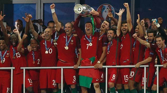 2016 Avrupa Şampiyonu Portekiz oldu