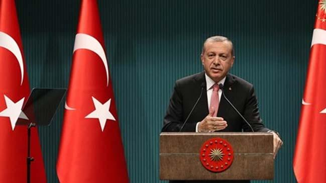 Cumhurbaşkanı Erdoğan: Türkiye'de 3 ay süreyle OHAL ilan edildi