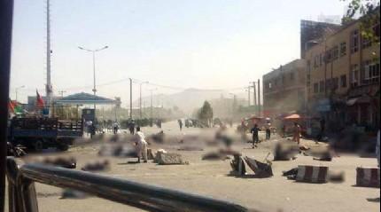 Kabil'de intihar sald�r�s�! �l� say�s� art�yor
