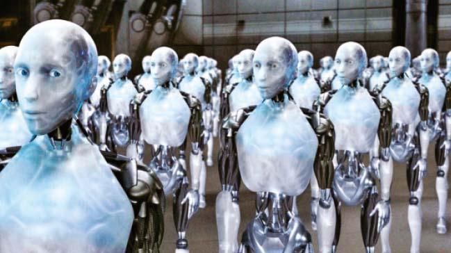 Robot say�s� insan n�fusunu ge�ecek