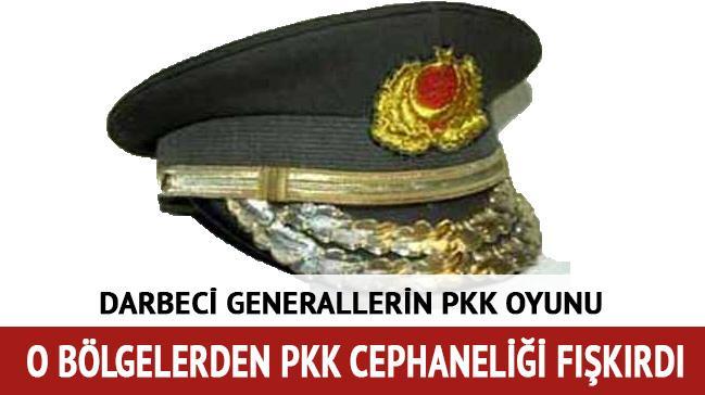 Darbeci generallerin PKK oyunu