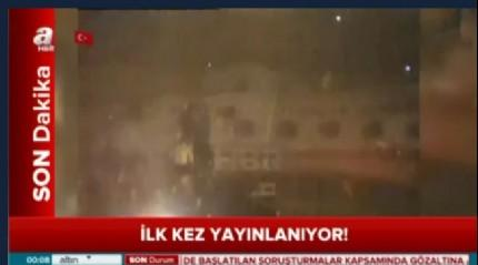 15 Temmuz gecesi Cumhurba�kan� Erdo�an Atat�rk Havaliman�'na b�yle indi