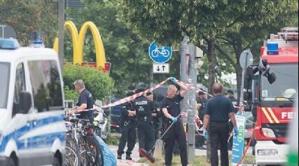 Almanya'da patlama! �l� ve yaral�lar var