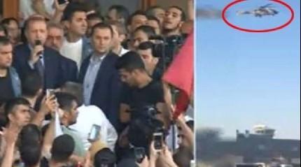 Cumhurba�kan� Erdo�an'� helikopterle vuracaklard�!