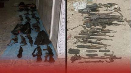 Nusaybin'de �ok say�da silah ve m�himmat ele ge�irildi!