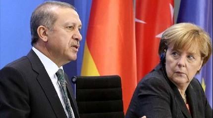 Cumhurba�kan� Erdo�an'dan Merkel'e 4 bin 500 isimli liste