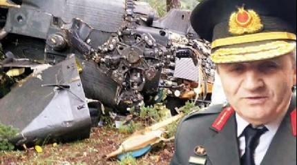 Giresun'daki helikopter kazas�nda yaralanan general FET�'c� ��kt�