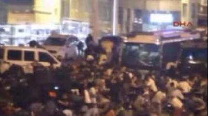 ��te o gece Taksim'de ya�ananlar!
