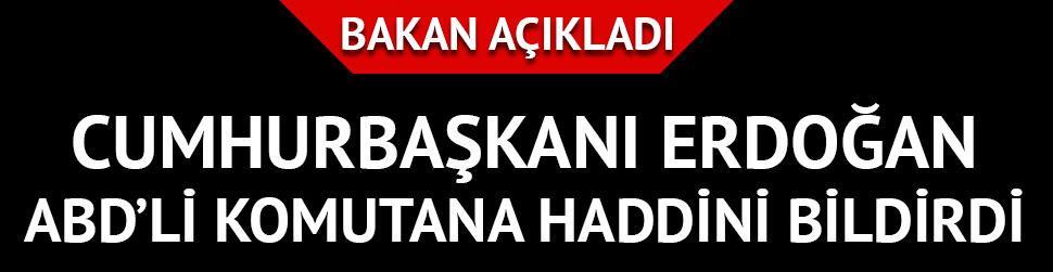 Cumhurba�kan� Erdo�an �zel Harekat'ta