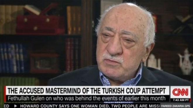 Teröristbaşı Fetullah Gülen'den CNN'e skandal açıklama