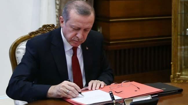 Cumhurbaşkanı Erdoğan, 6732 sayılı kanunu onayladı