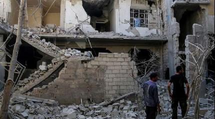 Esed g��leri yine sivilleri bombalad�
