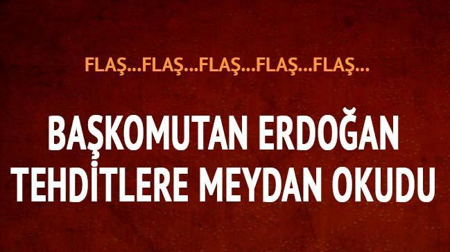 Cumhurba�kan� Erdo�an'dan a��klamalar