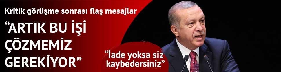Erdo�an: Ba�aramayacaks�n�z, milletimizi b�lemeyeceksiniz