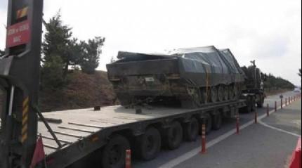 Tanklar Gaziantep'e do�ru yola ��kt�