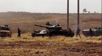 FLA�! T�rk tanklar� Suriye'de