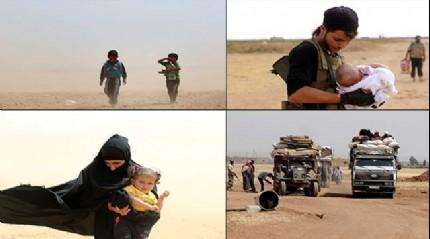 Suriyeliler DAE� ve PYD'den ka��yor