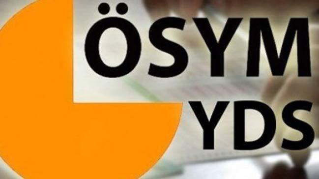 YDS s�nava giri� belgeleri eri�ime a��ld�