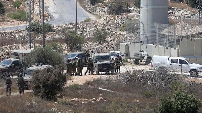 �srail askerleri bir Filistinliyi �ld�rd�