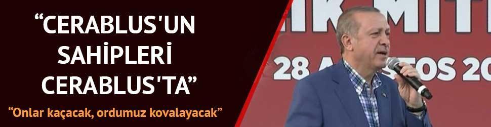 Erdo�an: Ak�tt�klar� kanda mutlaka bo�ulacaklard�