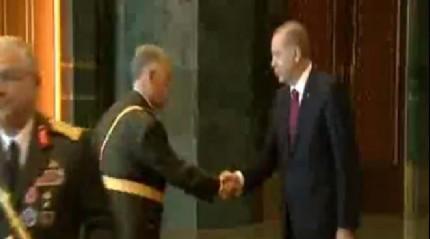 Cumhurba�kan� Erdo�an tebrikleri kabul etti