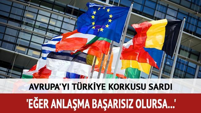 Avrupa'y� T�rkiye korkusu sard�