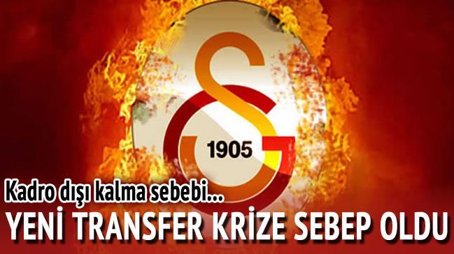 Yeni transfer krize sebep oldu!