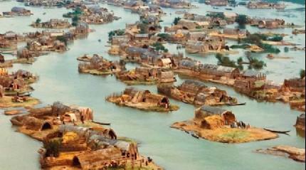 Buras� Irak'�n g�neyinde bir yerle�im yeri. Egzotik bir Venedik'i and�rm�yor mu?